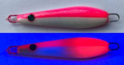 Flattermaus Pink/Weiß MC 4g