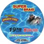 Super Braid 19kg, 0,22 200 m