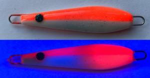 Flattermaus Orange / Weiß MC 4g