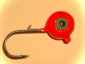 Rundkopf Fluo Rot 5/0 75g